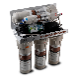 正品一米净水器五级RO反渗透经典V5过滤器家用直饮水净水机滤水器