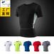 男士PRO紧身排汗速干衣服运动健身跑步短袖衫T恤T1202