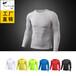 纯色男士PRO紧身T恤健身运动跑步弹力排汗速干长袖衫衣服T1304
