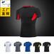 新款男士运动PRO健身运动跑步弹力速干压缩T恤短袖塑身衣服T1209