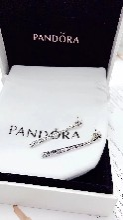 Pandora潘多拉流星耳坠耳环耳钉296351CZ图片