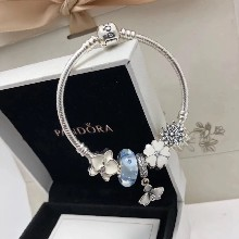 Pandora潘多拉925银手镯串饰791618CZ