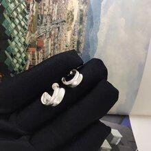 日本Legend吉原直925银手工打造羽毛套链手镯耳环图片