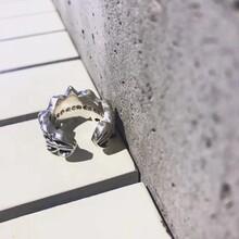 克罗心ChromeHearts最受欢迎戒指复刻925纯银