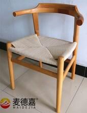 广州实木餐椅厂家供应西餐厅定制美式风格实木餐椅好看的餐椅