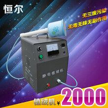 恒爾CY-III型正品單噴頭沙盤靜電植絨設備多彩植絨機圖片