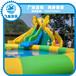 充气大象滑梯充气滑梯水池组合充气水上玩具充气儿童水上乐园