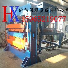 哈尔滨道里区膨胀珍珠岩防火门芯板生产线液压保温设备