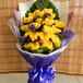 武汉大型鲜花市场供应扫墓祭祀用的黄白菊花,单朵大量售价2.5元