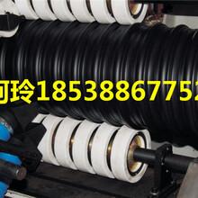 洛阳直销HDPE排水管厂家低价出售钢带增强螺旋波纹排水管