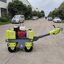 福建福州小型压路机回填土压土机包邮款诚信经营手扶式双辊压路机