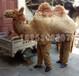 舞臺動物道具服裝表演用駱駝服裝道具兩人穿駱駝表演服可定制