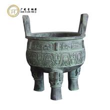 青铜器仿古摆件大克鼎铜工艺品定做直销