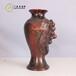 青铜器仿古摆件葡萄瓶铜工艺品礼品定做直销文玩古玩