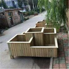 北京环卫设备,室外种植长方形绿化实木质花箱、花箱景观造型、钢木花箱、实木花箱