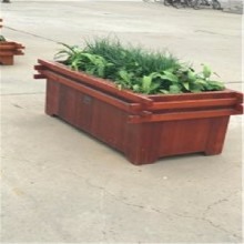 嘉永环卫设备生产直销实木花箱、绿化花箱、组合花箱、花盆花池等产品