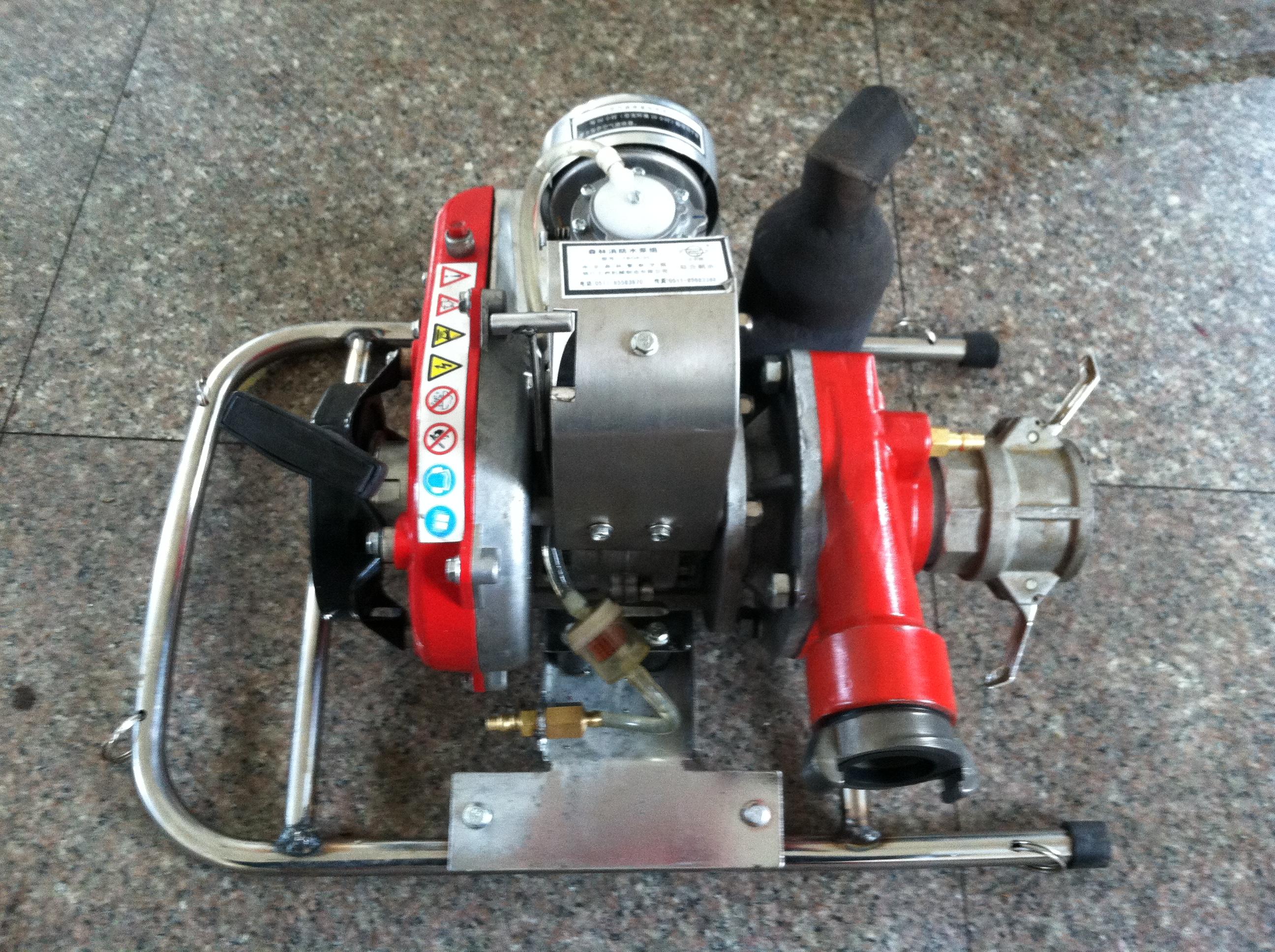 电启动背负式森林消防泵WICK-250A三级离心式水泵