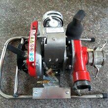 電啟動背負式森林消防泵WICK-250A三級離心式水泵