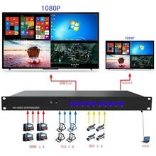 图视电子4路高清HDMI、VGA画面分割器.画面合成器