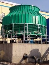 圆形冷却塔生产厂家山东锦山玻璃钢圆形冷却塔供应基地