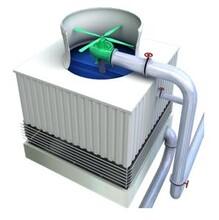 圆形喷雾冷却塔锦山供应厂家直销逆流式节电节能冷却塔