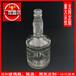 厂家供应高质量晶白料玻璃酒瓶500ml定制各种logo白酒瓶