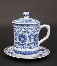 景德镇陶瓷定做茶杯陶瓷茶产厂家礼品会办公杯批发