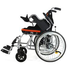 威之群电动轮椅1023-27可折叠轻便锂电