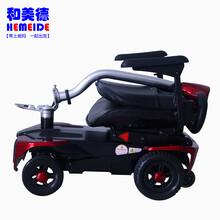 美国舒莱适SolaxS3012智能遥控伸缩代步车折叠老年电动四轮车