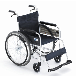 Miki三贵MPT-43L铝合金老人轻便轮椅折叠手动轮椅车免充气带手刹