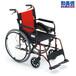 三贵MCV-49JL航太铝合金轮椅老人残疾人加宽减震轮椅老年代步车