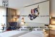 定西两只攀雀酒店床上用品四件套批发布草贡缎五星级欧式全国包邮