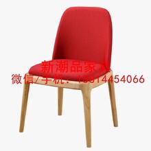 中村简约现代北欧实木餐椅客厅家具客厅餐厅咖啡厅设计师家具