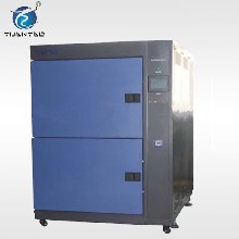 供应液体式冷热冲击箱高低温冲击试验箱小型冷热冲击试验机非标可定做图片