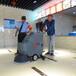 合肥高美GM50B洗地机上海手推式洗地吸干机厂家直销