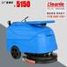 洁乐美YSD-420托线式上海小型折叠式洗地机