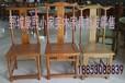 廠家定制定做實木餐桌餐椅酒店實木餐椅家具飯店椅子