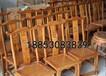 康熙小家酒店實木餐椅單背椅步步高升餐椅飯店就餐椅子