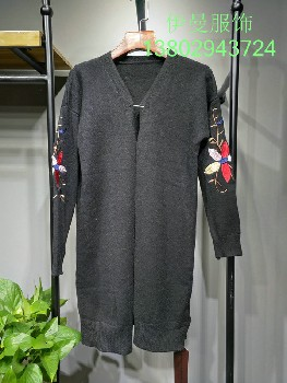 一二线品牌女装宝姿毛衫品牌折扣批发尾货走份批发