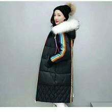 冬季必备武器欧版羽绒服品牌女装一手货源女装折扣库存尾货批发
