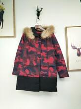 上海品牌艾米拉羽绒服女装库存尾货折扣批发,充足货源
