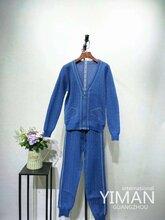 广州伊曼品牌折扣女装针织运动套装库存一手货源尾货走份图片