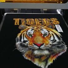 服装直喷打印机纺织品印花机服装布料T恤数码印花机