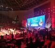 广州大学城舞台桁架喷绘音响灯光LED屏出租搭建