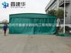 天津红桥区鑫建华专业订做推拉式厂房仓储篷工程仓库活动蓬货车停车棚