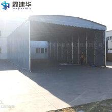 武汉市大型仓库推拉蓬-伸缩式活动雨棚伸缩方便图片