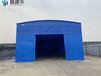 蒙自市工业仓库推拉篷-装配式伸缩遮阳蓬设计定制