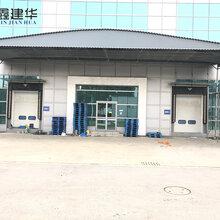 平阴县大型推拉仓库雨棚-活动伸缩雨篷制作生产图片