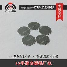 專業生產81.5圓形小規格鍍鋅強力磁鐵