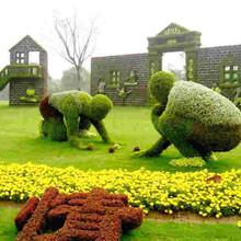 成都绿雕雕塑,园林绿化仿真雕塑制作图片